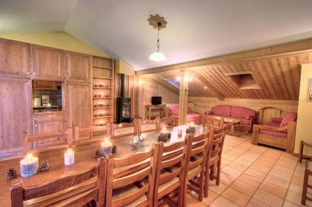 Rent in ski resort Les Balcons de Belle Plagne - La Plagne - Living room