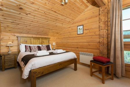 Аренда на лыжном курорте Les Chalets de Crête Côte Village - La Plagne - Двухспальная кровать