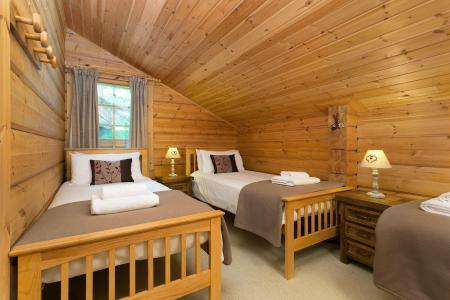 Аренда на лыжном курорте Les Chalets de Crête Côte Village - La Plagne - Односпальные кровати