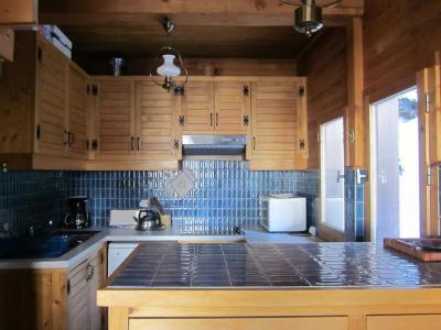 Rent in ski resort 4 room chalet 7 people (8) - Les Chalets de la Forêt - La Plagne - Kitchen
