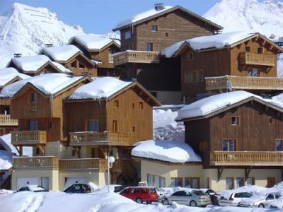 Location au ski Les Chalets Des Alpages - La Plagne - Extérieur hiver