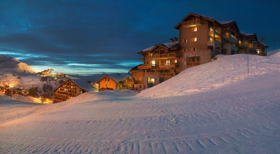 Location au ski Les Granges du Soleil - La Plagne - Extérieur hiver