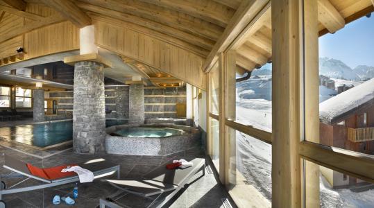 Location au ski Les Granges du Soleil - La Plagne - Bain à remous