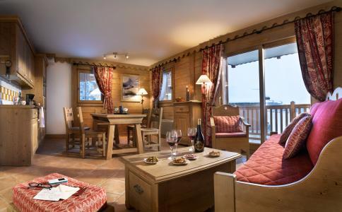 Rent in ski resort Les Granges du Soleil - La Plagne - Living room