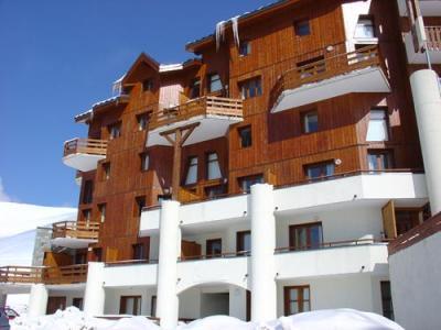 Location au ski Les Lodges Des Alpages - La Plagne - Extérieur hiver