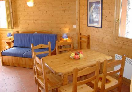 Location au ski Les Lodges des Alpages - La Plagne - Séjour