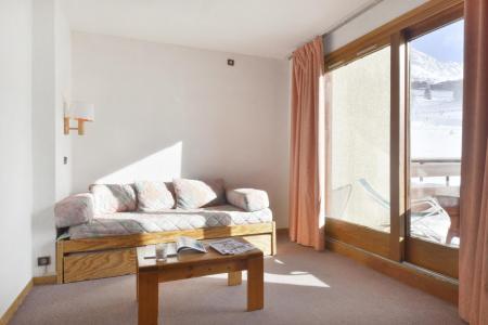 Location au ski Studio 4 personnes (05) - Residence 3000 - La Plagne - Coin nuit
