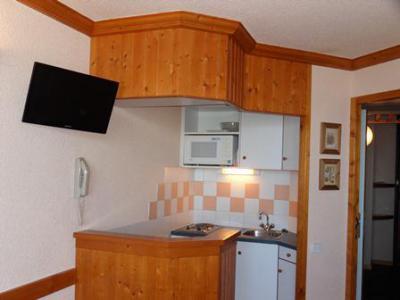 Location au ski Studio 4 personnes (132) - Residence Aime 2000 Paquebot Des Neiges - La Plagne - Kitchenette