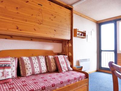 Location au ski Studio 4 personnes (132) - Residence Aime 2000 Paquebot Des Neiges - La Plagne - Lit double
