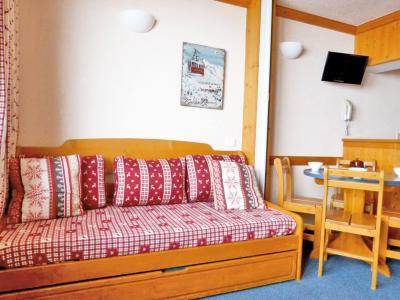 Location au ski Studio 4 personnes (132) - Residence Aime 2000 Paquebot Des Neiges - La Plagne - Séjour