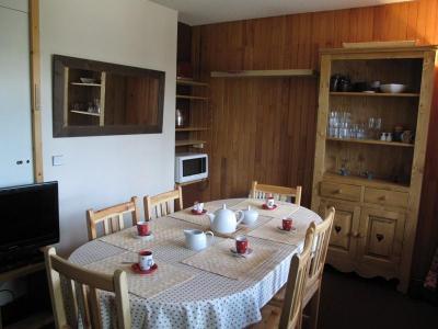 Location au ski Appartement duplex 2 pièces 6 personnes (34) - Résidence Belvédère - La Plagne - Salle à manger