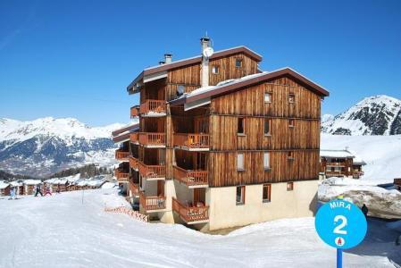 Location au ski Appartement duplex 2 pièces 6 personnes (34) - Residence Belvedere - La Plagne - Extérieur hiver