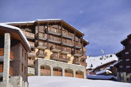 Аренда на лыжном курорте Апартаменты 2 комнат 4 чел. (26) - Résidence Carène - La Plagne - зимой под открытым небом
