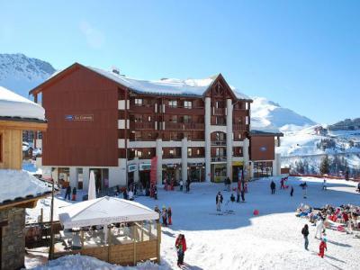 Vacances en montagne Résidence Cervin - La Plagne - Extérieur hiver