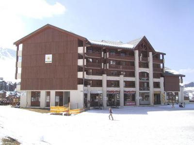 Vacances en montagne Appartement duplex 3 pièces cabine 6 personnes (706) - Résidence Cervin - La Plagne - Extérieur hiver