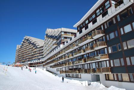 Location au ski Studio 4 personnes (131) - Résidence Chamois - La Plagne - Extérieur hiver
