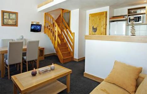 Location au ski Residence Club Mmv Le Centaure - La Plagne - Coin séjour