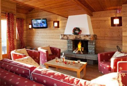 Location au ski Residence Club Mmv Le Centaure - La Plagne - Cheminée