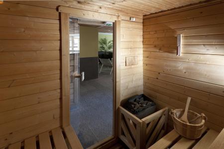 Location au ski Residence Club Mmv Le Centaure - La Plagne - Sauna