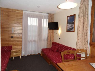Location au ski Studio 4 personnes (1115) - Residence Croix Du Sud - La Plagne - Banquette-lit
