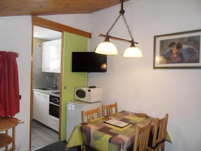 Location au ski Studio 4 personnes (387) - Residence Emeraude - La Plagne - Chambre mansardée