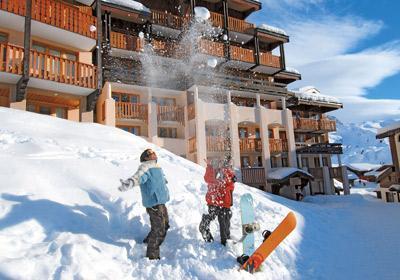 Ski en famille Residence La Licorne