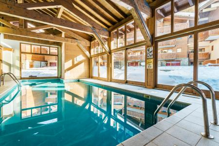 Location au ski Résidence Lagrange les Chalets d'Edelweiss - La Plagne - Piscine