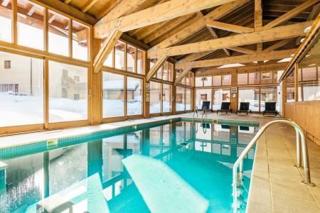 Location au ski Residence Lagrange Les Chalets D'edelweiss - La Plagne - Piscine