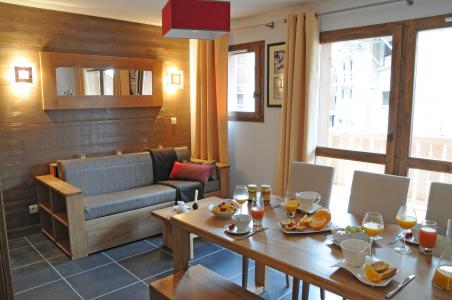 Location au ski Résidence Lagrange les Chalets d'Edelweiss - La Plagne - Séjour