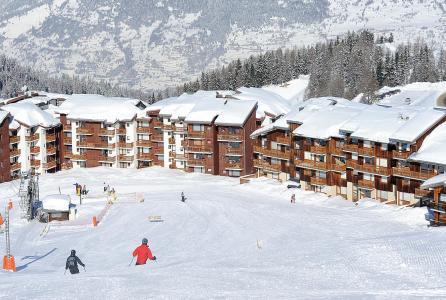 Location au ski Résidence Lagrange Vrt - La Plagne - Extérieur hiver