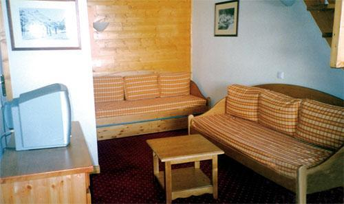 Location au ski Residence Lagrange Vrt - La Plagne - Coin séjour