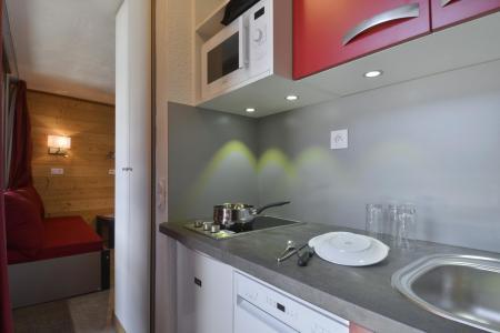 Location au ski Studio coin montagne 4 personnes (33) - Residence Le Carroley A - La Plagne