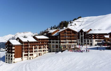 Vacances en montagne Résidence le Cervin - La Plagne - Extérieur hiver