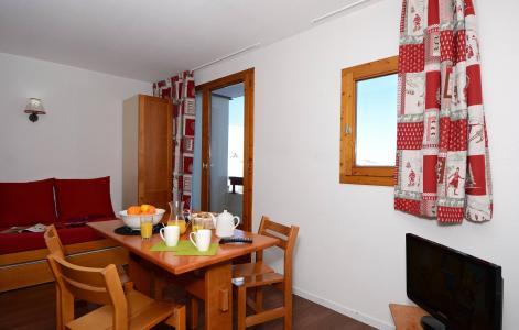 Location au ski Appartement 2 pièces mezzanine 6 personnes - Residence Le Cervin - La Plagne - Extérieur hiver