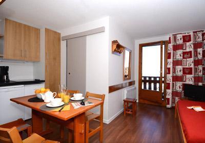 Location au ski Residence Le Cervin - La Plagne - Salle à manger