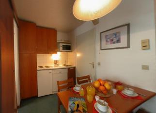 Location au ski Studio 4 personnes - Residence Le Cervin - La Plagne - Cuisine