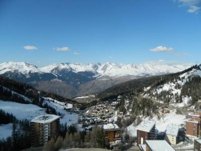 Location au ski Appartement 2 pièces 5 personnes (153) - Résidence le Mont Blanc - La Plagne - Extérieur hiver