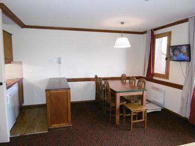 Location au ski Appartement 3 pièces 6 personnes (956) - Résidence le Montsoleil - La Plagne - Salle à manger
