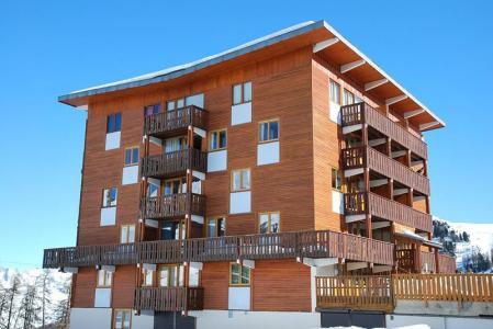 Location au ski Résidence le Mustag - La Plagne - Extérieur hiver