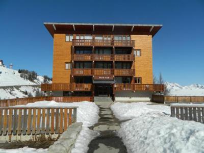 Location au ski Appartement 2 pièces 5 personnes (15) - Résidence le Mustag - La Plagne - Extérieur hiver