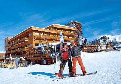 Location au ski Residence Le Pelvoux - La Plagne