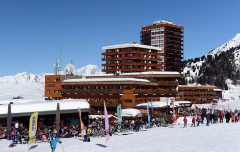 Vacances en montagne Résidence le Pelvoux - La Plagne - Extérieur hiver
