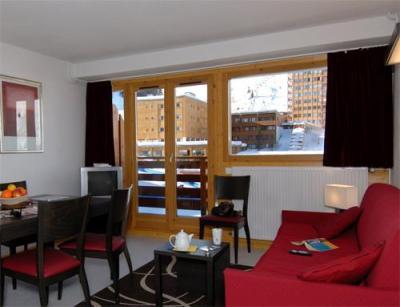 Location au ski Appartement 2 pièces 4-5 personnes - Residence Le Pelvoux - La Plagne - Séjour