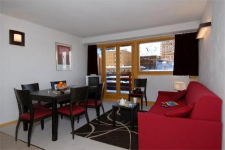 Location au ski Appartement 2 pièces coin montagne 5-6 personnes - Residence Le Pelvoux - La Plagne - Séjour