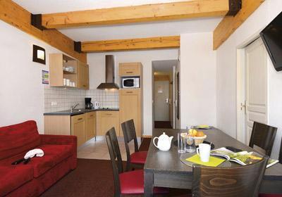 Location au ski Residence Le Pelvoux - La Plagne - Salle à manger