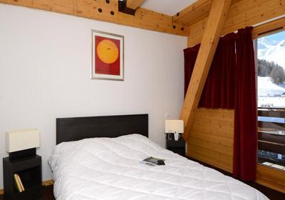 Location au ski Residence Le Pelvoux - La Plagne - Chambre