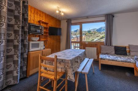 Rent in ski resort 2 room apartment 6 people (31) - Résidence le Perce Neige - La Plagne - Dining area
