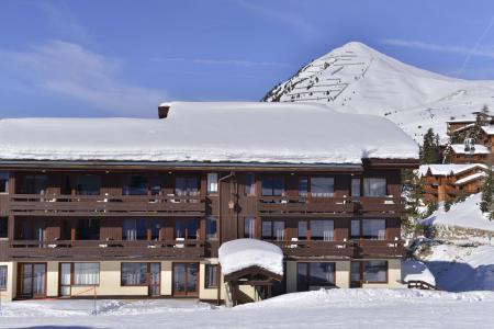 Holiday in mountain resort Studio 3 people (556) - Résidence le Quartz - La Plagne - Winter outside