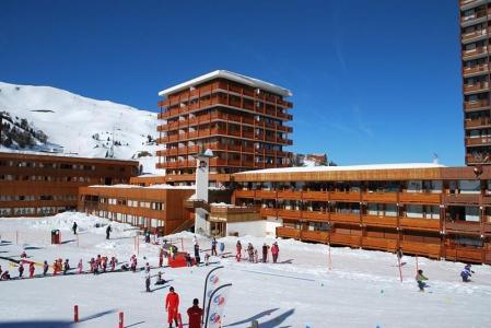 Location au ski Studio 4 personnes (208) - Résidence le Vercors - La Plagne - Extérieur hiver