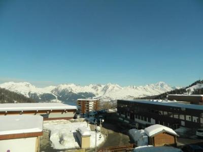 Location au ski Studio 4 personnes (111) - Résidence le Vercors - La Plagne - Extérieur hiver